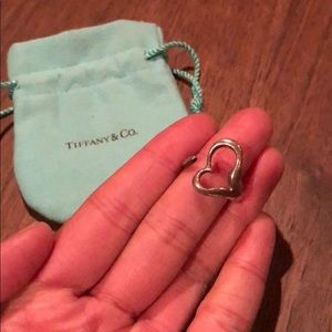 64 off Tiffany Co Jewelry Tiffany Co Open Heart Ring Poshmark